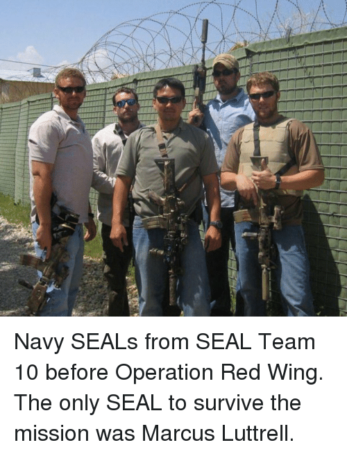 all navy seals from seal team 10 before operation red wing