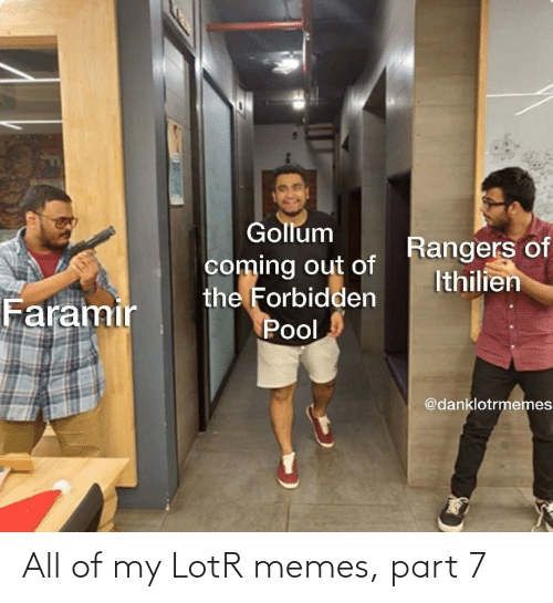 Memes, Lotr, and All: All of my LotR memes, part 7