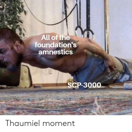 All Of The Foundation S Amnestics Scp 3000 Thaumiel Moment All Of The Meme On Me Me Select from a wide range of models, decals, meshes, plugins, or audio that help bring your imagination into reality. amnestics scp 3000 thaumiel moment