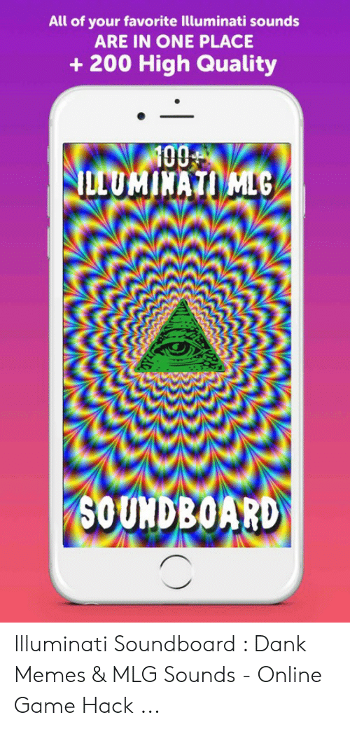 All of Your Favorite Illuminati Sounds ARE IN ONE PLACE 200