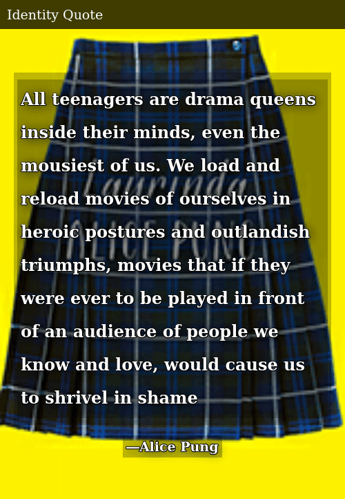 All Teenagers Are Drama Queens Inside Their Minds Even the ...
