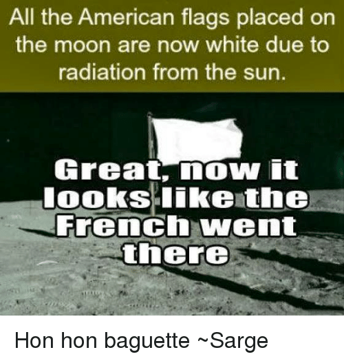 Memes American And Flag All The Flags Placed On Moon