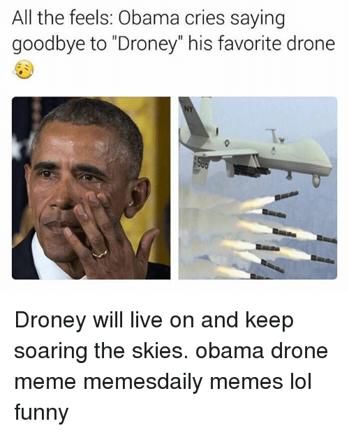 All The Feels Obama Cries Saying Goodbye To Droney His Favorite