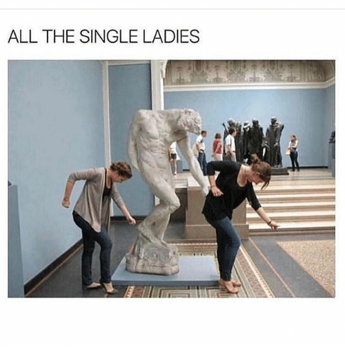 Funny, Single, and All The: ALL THE SINGLE LADIES