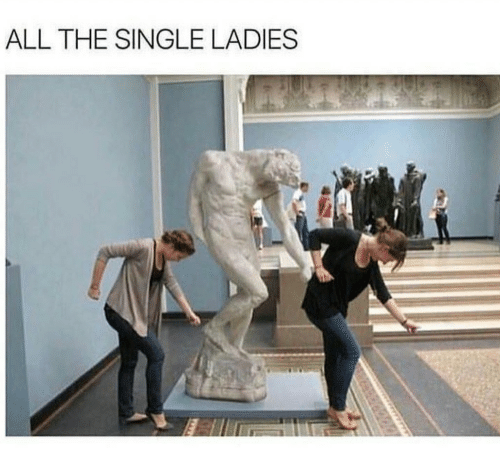 Single, All The, and Single Ladies: ALL THE SINGLE LADIES