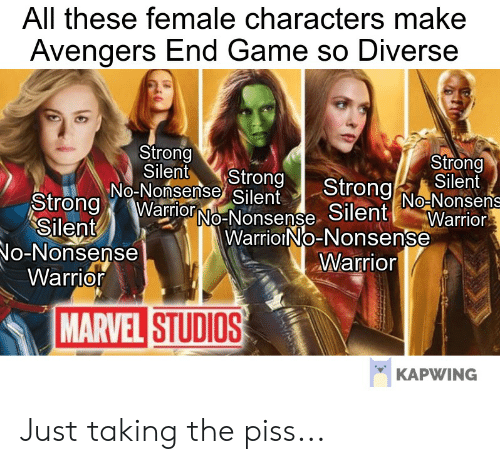 All These Female Characters Make Avengers End Game So