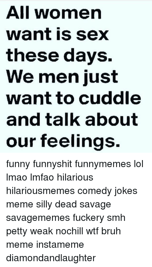 Jokes about sex with men