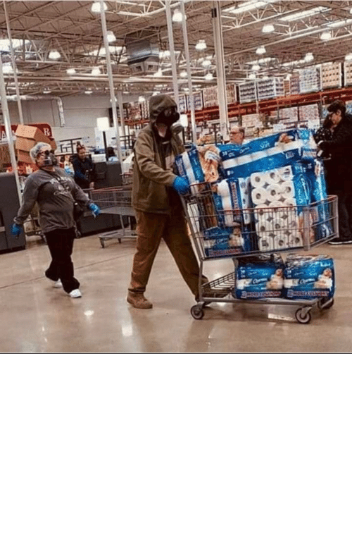 Soldiers, Gear, and Desperately: Allied soldiers clad in tactical gear and gas masks cart desperately needed supplies through the trenches on theWestern Front ( 1916, colorized )