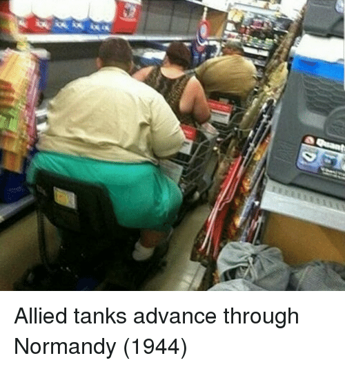 Tanks, Normandy, and Through: Allied tanks advance through Normandy (1944)