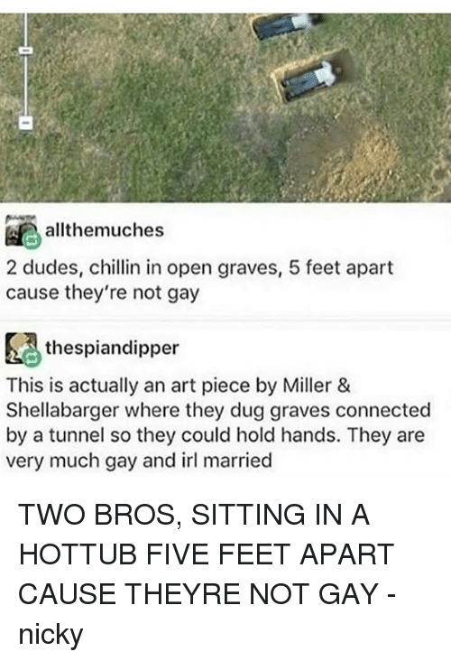 Memes Connected And Irl Allthemuches 2 Dudes Chillin In Open Graves