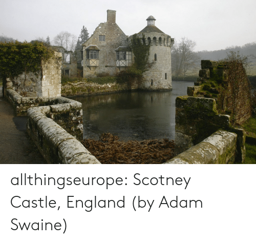 England, Tumblr, and Blog: allthingseurope: Scotney Castle, England (by Adam Swaine)