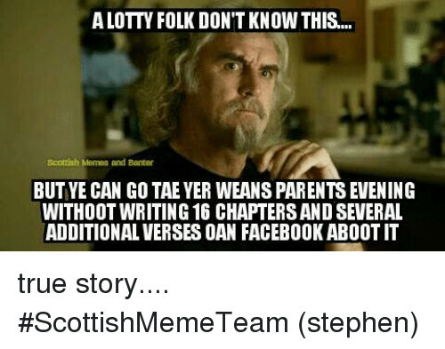 alottn folk dont know this scottish memes and banter but 17486044 alottn folk don't know this scottish memes and banter but ye can