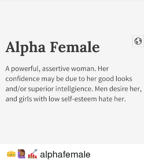 what is an alpha woman