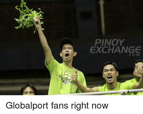 ALPORT PINOY EXCHANGE Globalport Fans Right Now | Filipino (Language