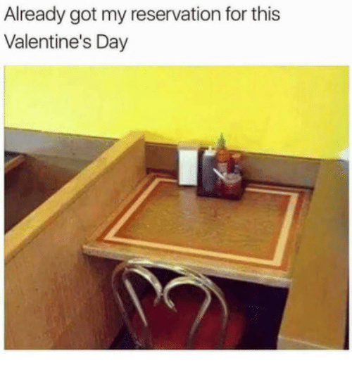 Valentine's Day, Got, and Day: Already got my reservation for this  Valentine's Day