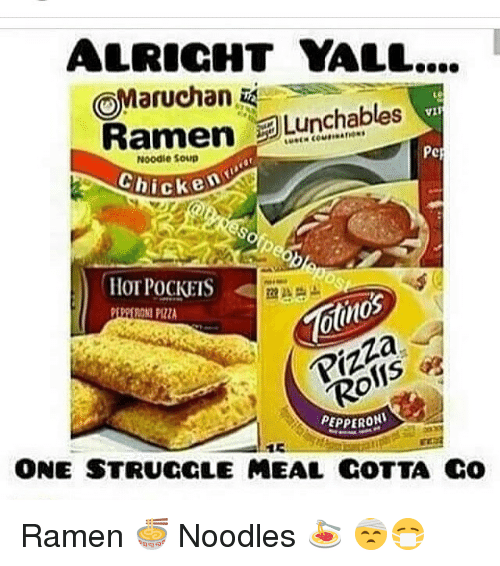 Alright Yall Omanuchan Lunchables Amen Pck Chicken Otnos Pepperoni