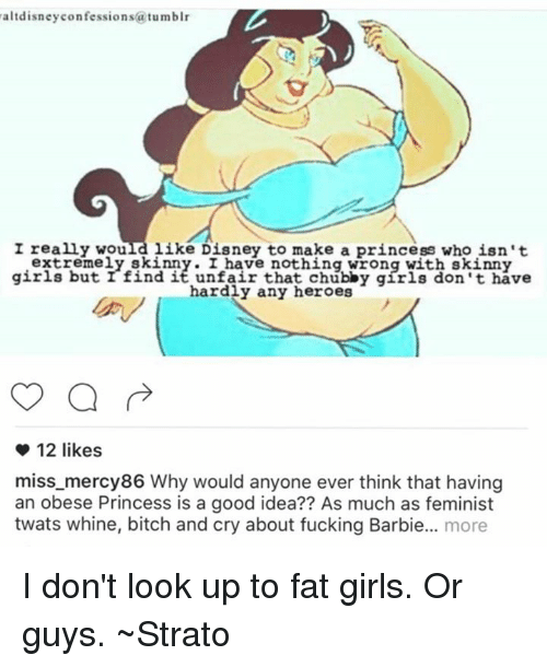Guys dont like fat girls