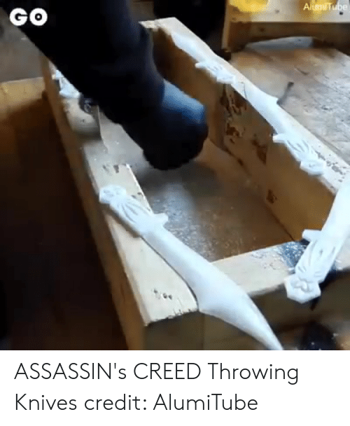 Alumitube Go Assassin S Creed Throwing Knives Credit Alumitube