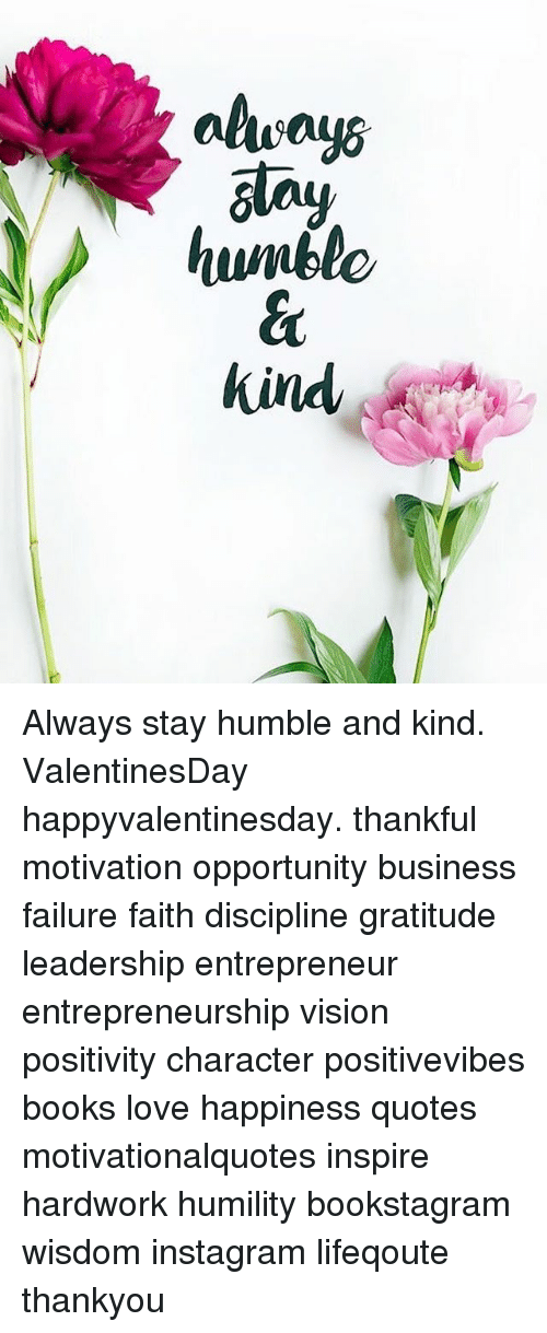 Alway6 Kind Always Stay Humble And Kind Valentinesday