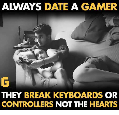 Dating for video gamers