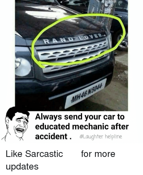 Always Send Your Car To Educated Mechanic After Accident Helpline