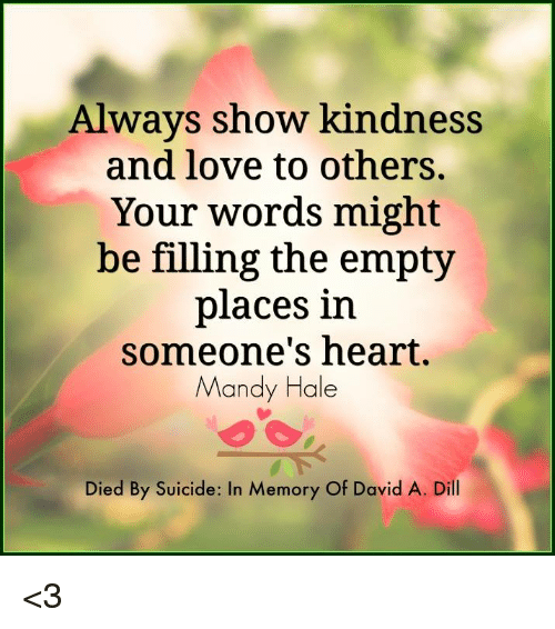 to show love and kindness