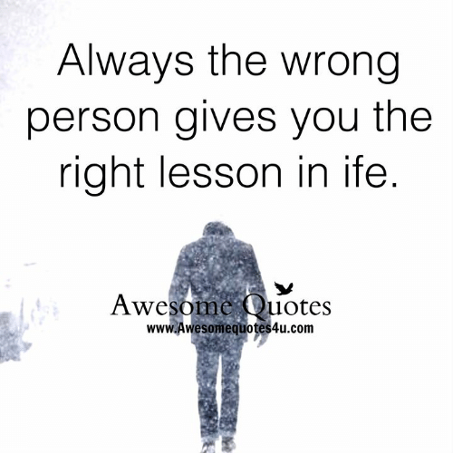 wrong person quotes