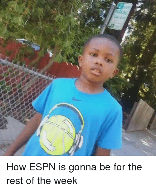 Aly How ESPN Is Gonna Be for the Rest of the Week | Ali Meme on ME ME