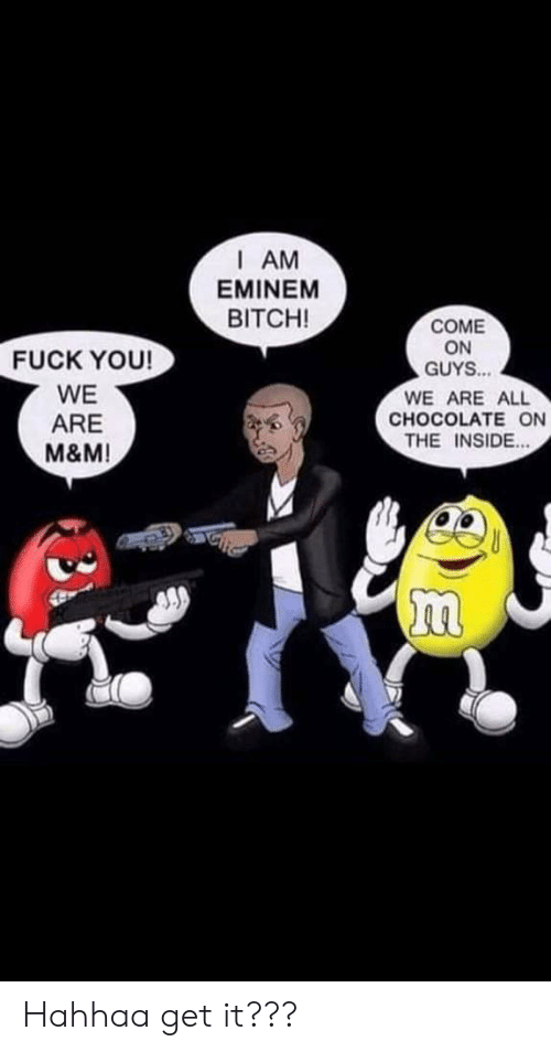 from Conrad fuck you by eminem