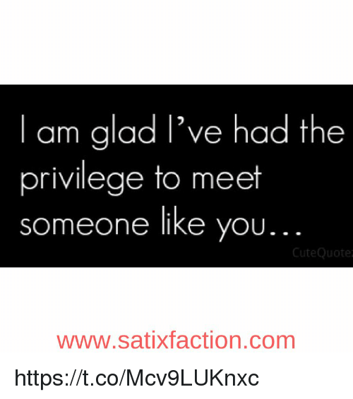 Glad To Meet You Quotes Archidev