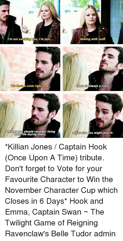 hook once upon a time memes Once upon a time (season 6) once upon a time emma and hook finally marry, just in time for the dark clouds of the black fairy's curse to erupt from the.