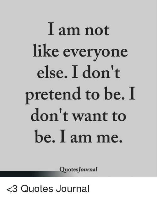 Am Not Ike Everyone Else I Don\'t Pretend to Be I Don\'t Want ...