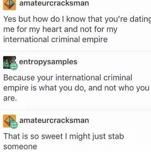 About me dating samples