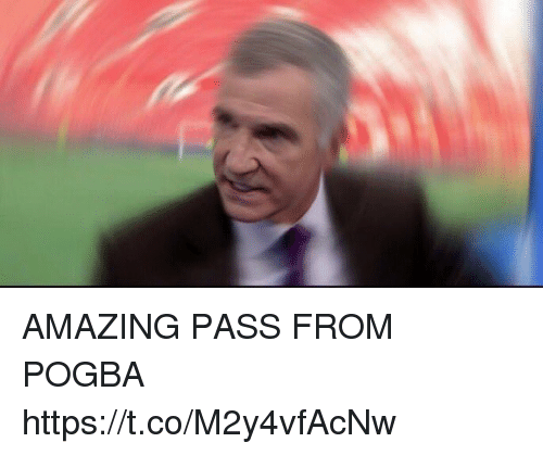 Soccer, Amazing, and Pogba: AMAZING PASS FROM POGBA https://t.co/M2y4vfAcNw
