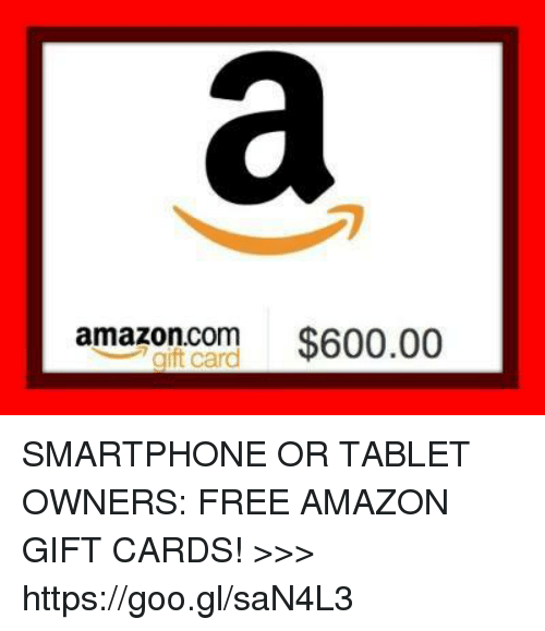 Amazoncom $60000 SMARTPHONE OR TABLET OWNERS FREE AMAZON