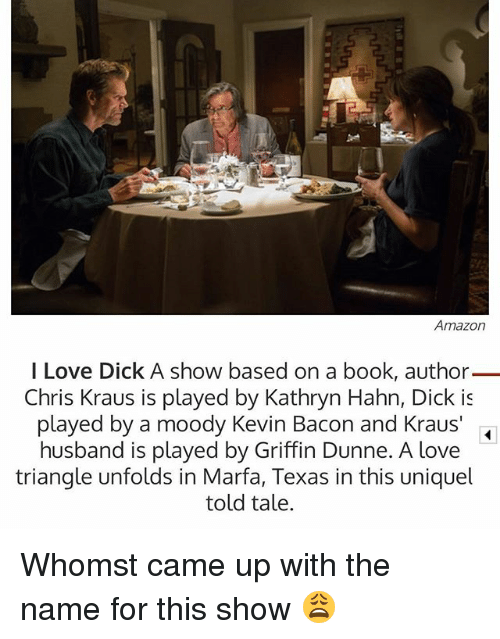 Husband told me he loves dick