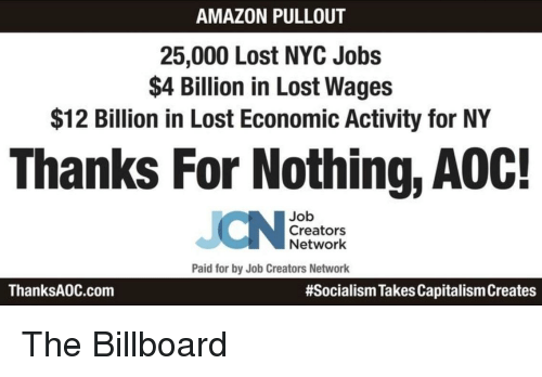 Billboard And Lost Pullout 25 000 Nyc Jobs 4 Billion In
