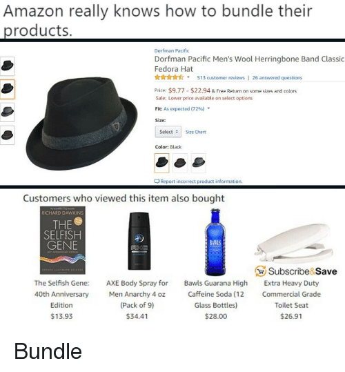 Amazon Really Knows How to Bundle Their Roducts Dorfman Pacific ... 7e9502403853