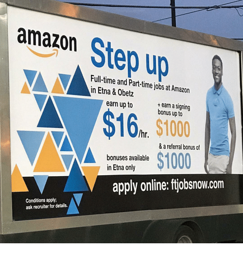 a68f09e4 Amazon Up Full-Time and Part-Time Jobs at Amazon in Etna & Obetz ...