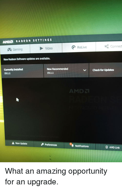 AMDI RADEON SETTINGS Video Relive O Connect Gaming New