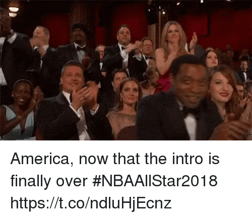 Home Market Barrel Room Trophy Room ◀ Share Related ▶ America sports now finally intro over That The Https Ended Ends The next America, now that the intro is finally over #NBAAllStar2018 https://t.co/ndluHjEcnz collect meme → Embed it next → America now that the intro is finally over #NBAAllStar2018 httpstcondluHjEcnz Meme America sports now finally intro over That The Https America America sports sports now now finally finally intro intro over over That That The The Https Https found @ 773 likes ON 2018-02-19 01:56:35 BY me.me source: twitter view more on me.me