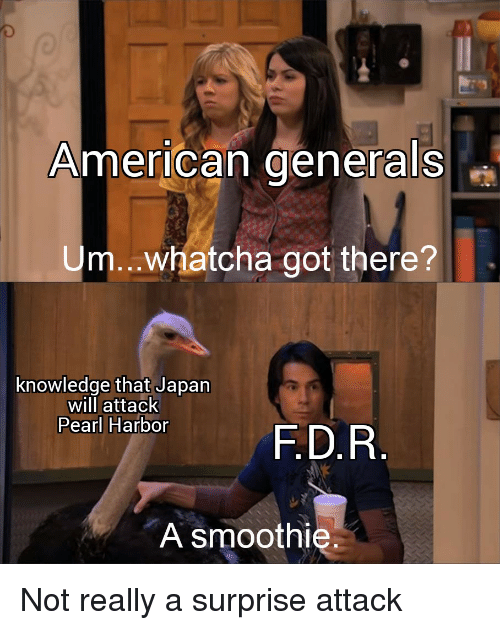 American Generals Umwhatcha Got There? Knowledge That Japan