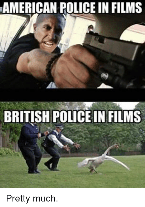 Funny Police And American American Policein Films British Police In Films Pretty Much