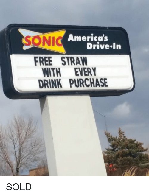 Sonic drive-in dating meme