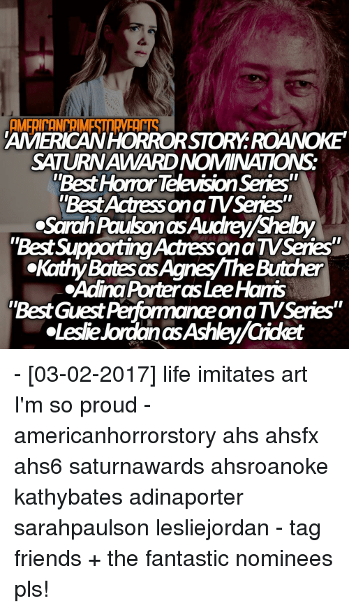 AMERICAWHORRORSTORY ROANOKE SATURNAWARDNOMINATIONS Best Horror