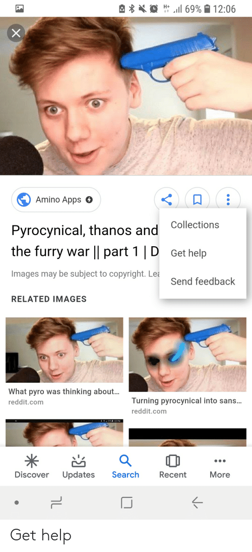 Amino Apps O Pyrocynical Thanos and the Furry War L  Part 1   D