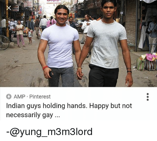 Setthy gay guys holding hands