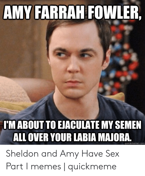 what episode does sheldon sleep with amy