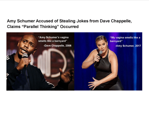 Amy Schumer Accused of Stealing <b>Jokes</b> From <b>Dave</b> Chappelle Claims ...