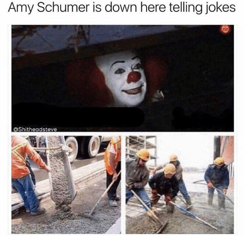 amy schumer is down here telling jokes ashitheadsteve 19611672 amy schumer is down here telling jokes ashitheadsteve amy,Get Down Here Meme